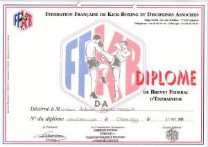18 - FFKBDA - Brevet Federal d'entraineur - 27.11.2006