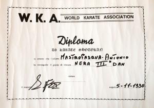 03 - WKA - Karate Shotokan - 05.11.1990