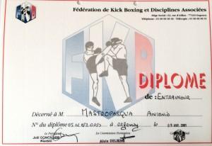 17 - FKBDA - Diplome d'entraineur - 09.04.2001